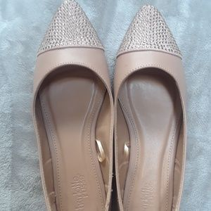 Size 7 pointed Flats